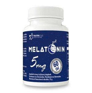 Nutricius Melatonín 5 mg 60ks