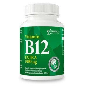 Nutricius Vitamín B12 Extra 1000 μg 90ks