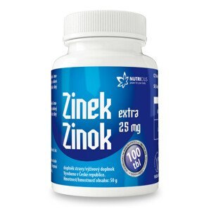 Nutricius Zinok Extra 25 mg 100ks