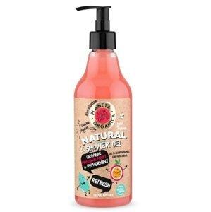 """Planeta Organica Prírodný sprchový gél """"Refresh"""" - Ovocie a mäta 500ml"""