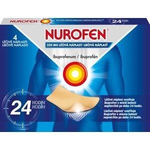 NUROFEN 200mg liečivá náplasť 4ks
