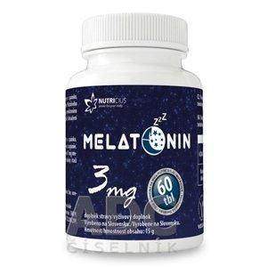Nutricius Melatonin 3 mg 60 tablet
