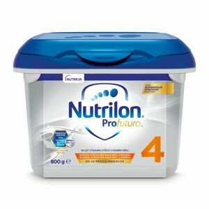 Nutrilon 4 ProFutura Nová batoľacia mliečna výživa v prášku 1x800 g