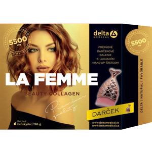 DELTA LA FEMME Beauty COLLAGEN + make up štetec