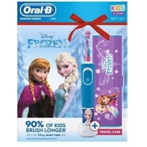 Oral-B Elektrická kefka Frozen Vitality D100 + cestovné púzdro