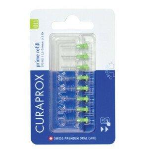 CURAPROX CPS 011 prime refill svetlozelená medzizubné kefky bez držiaka 1x8 ks