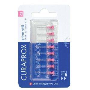 CURAPROX CPS 08 prime refill ružová medzizubné kefky bez držiaka 1x8 ks