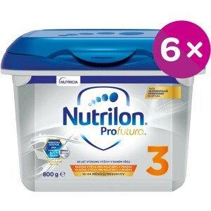 Nutrilon 3 ProFutura Nová batoľacia mliečna výživa v prášku 6x800 g