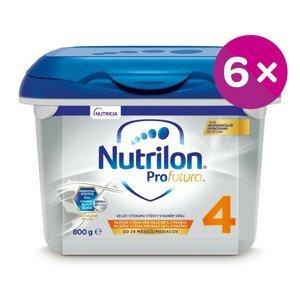 Nutrilon 4 ProFutura Nová batoľacia mliečna výživa v prášku 6x800 g