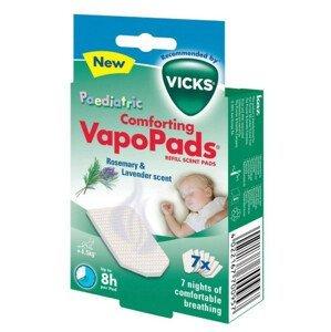 VICKS VAPOPADS Aromatické vankúšiky s vôňou rozmarínu a levandule pre deti