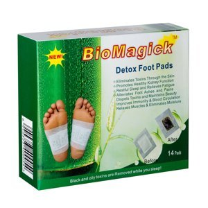 Biomagick Detoxikačné náplasti 14 ks