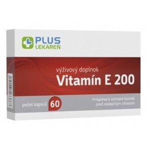 Plus Lekáreň Vitamín E 200, 60 cps