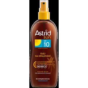 Astrid Olej na opaľovanie OF 10 200ml