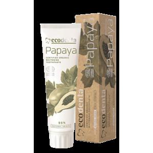 BIO bieliaca zubná pasta s výťažkom z papáje (Certified Organic Whitening Toothpaste) 100ml