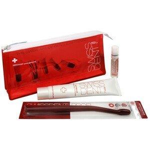 Swissdent Červený set pre starostlivosť o zuby Emergency Kit