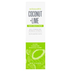 Schmidt's Naturals Coconut+Lime Zubná pasta 100ml