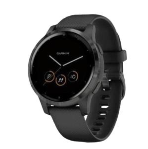Garmin monitorovací náramok a hodinky vívoactive4S Gray/Black Band