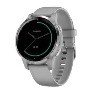 Garmin monitorovací náramok a hodinky vívoactive4S Silver/Gray Band