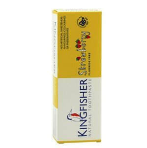 Kingfisher Zubná pasta detská jahoda 75ml