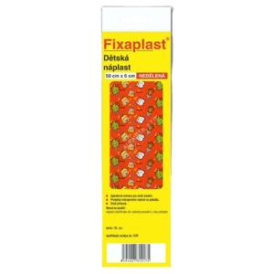 FIXAplast Detská náplasť nedelená s vankúšikom 50 cm x 6 cm ks