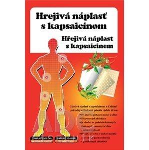 HREJIVÁ Náplasť s kapsaicínom 12x18 cm, masážna, 1 ks