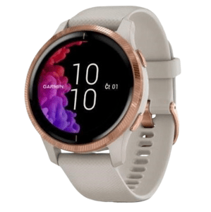 Garmin GPS športové hodinky Venu RoseGold/Sand Band