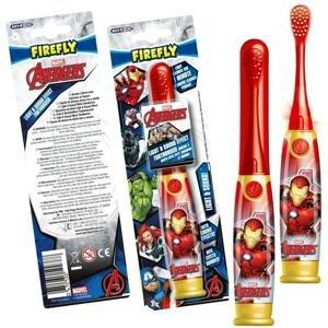 FIREFLY Avengers - Iron Man, Light a Sound, svietiaca a hovoriaca zubná kefka, 3r+