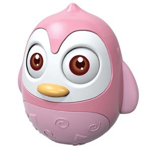 Bayo Kývajúca sa hračka tučniak pink 1ks