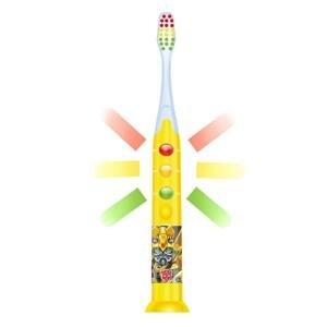 FIREFLY Svietiaca zubná kefka Transformers, žltá, od 3r+