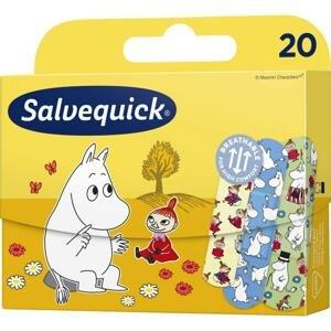 Salvequick Moominki Náplasť pre deti, 20 ks