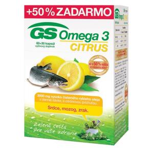 GS Omega 3 CITRUS 2015 cps 60+30