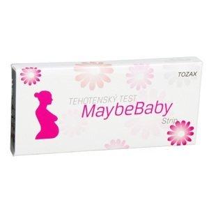 MaybeBaby strip 2v1 tehotenský test 2 ks