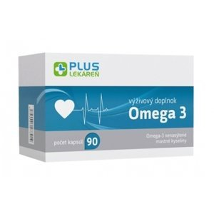 Plus Lekáreň Omega 3 90 cps