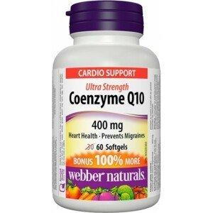 Webber Naturals Koenzým Q10 400 mg EXTRA FORTE 60sft