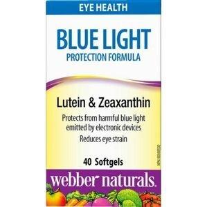 Webber Naturals Luteín+Zeax.+Nechtík Ochrana očí pred modrým svetlom 40sft