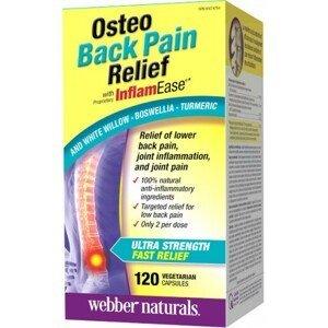 Webber Naturals Osteo proti bolesti chrbtice 120tbl