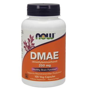 Now Foods DMAE Zdravá funkcia mozgu 250mg 100 veg kapsúl