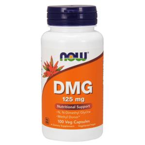Now Foods DMG Produkcia buniek v imunitnom systéme 125mg 100 veg kapsúl
