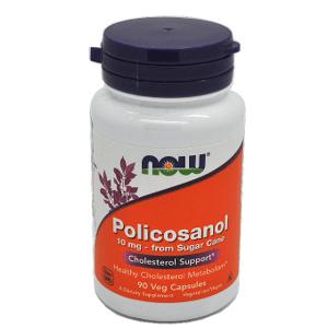 Now Foods Policosanol 10mg Cholesterol 90 veg kapsúl