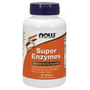 Now Foods Super Enzýmy pre zdravé trávenie 90 tabliet