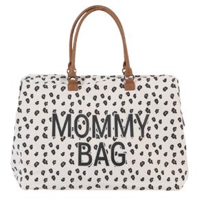 Childhome Prebaľovacia taška Mommy Bag Canvas Leopard