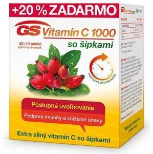 GS Vitamín C 1000 so šípkami 2016 tbl 50+10