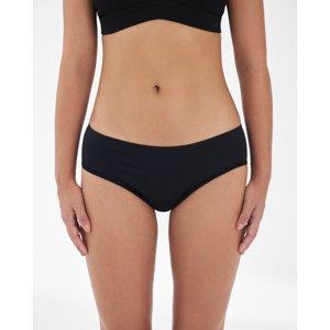 SNUGGS Menštruačné nohavičky na slabú a stredne silnú menštruáciu, veľ. XS - čierna