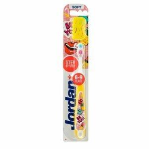Jordan Step 3 Detská zubná kefka 6-9 rokov, 1 ks