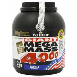 Weider Gainer Giant Mega Mass 4000, 3000 g - vanilka
