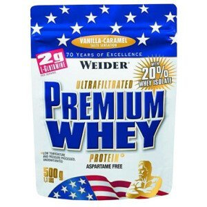 Weider Protein Premium Whey, 500g - vanilka-karamel