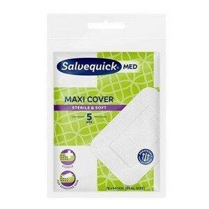 Salvequick Med Maxi Cover Náplasti maxi, 5 ks