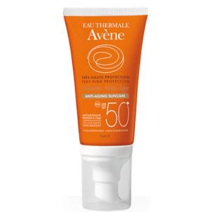 AVENE SOLAIRE ANTI-AGE TEINTE SPF50+ Slnečný anti-age, tónovací, citlivá pleť 50ml
