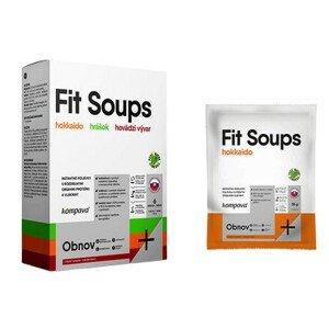 kompava Fit Soups Hokkaido instantná polievka 6 dávok vrecká 6x35 g