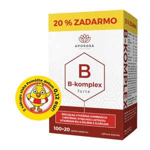 Aporosa Prémiový B-komplex forte 120 tabliet